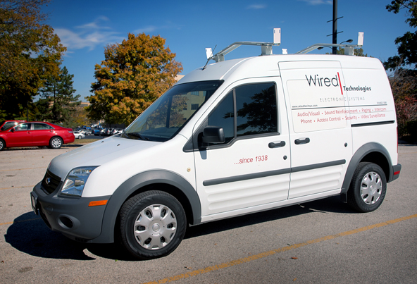 Wired Technologies Van